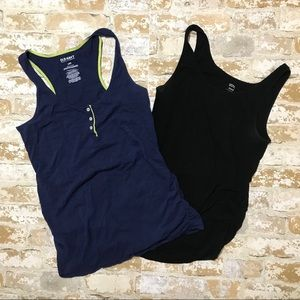 Old Navy Maternity Ruched Tank Tops